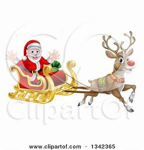 Free Santa And Rudolph Clipart (56+)