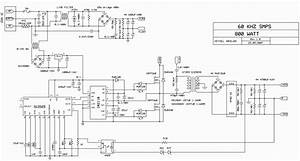 Switch Mode Power Supply Circuit Sg3525 Ir2110 900w Smps