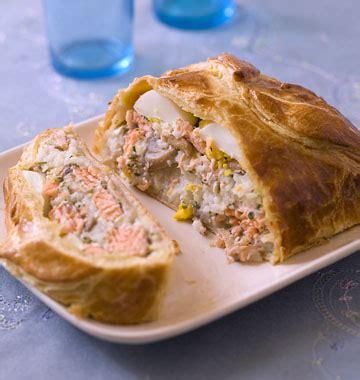 koulibiac feuilleté russe au saumon les meilleures