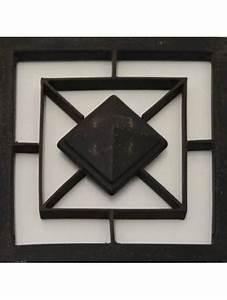 Grille Porte D Entrée : grille losange fer forge pour porte d 39 entree a visser ~ Melissatoandfro.com Idées de Décoration