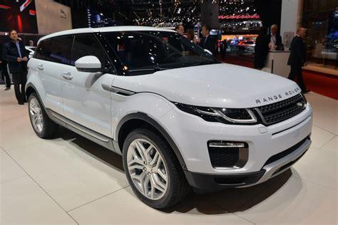 2018 Land Rover Range Rover Evoque Geneva 2018 Photo