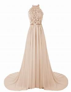 Dresstellsr women39s halter long prom dresses bridesmaid for Prom wedding dresses
