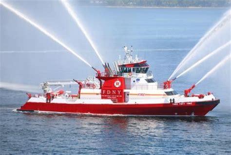 Fireboat White by New York Boat Trucks