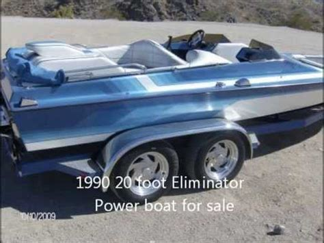 21 Foot Eliminator Boats For Sale by 1990 20 Foot Eliminator Power Boat For Sale 9500 Covina