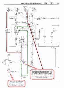 Toyota Corolla Cooling Fan Wiring Diagram