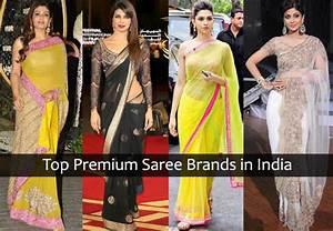 Top Premium (Designer) Saree Brands in India - LooksGud.in