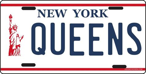 Vanity Plates Ny by New York Liberty License Plate Made In Usa