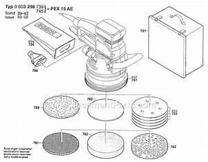 Bosch Pex 15 Ae : bosch pex15ae parts list and diagram 0603298739 ~ Jslefanu.com Haus und Dekorationen