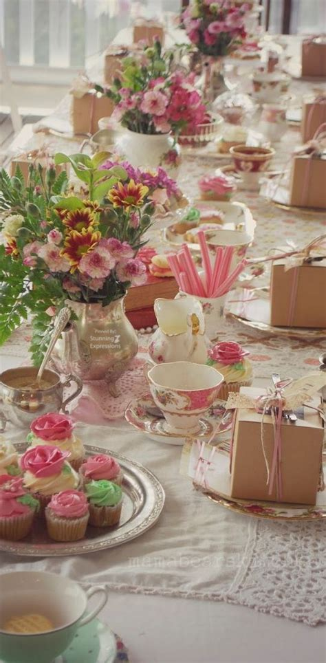 tea party table settings ideas 364 best images about ladies tea party ideas on pinterest