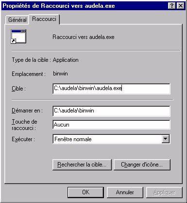 cr馥r une icone sur le bureau détails pour l 39 installation et la configuration du logiciel sous windows
