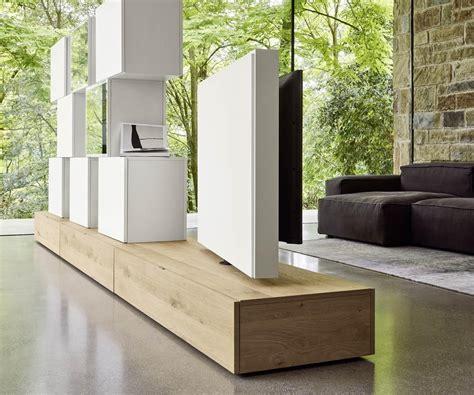 Raumtrenner Mit Fernseher by Design Raumteiler Wohnwand C46 Drehbaren Tv Paneel