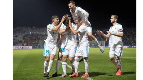Copa del Rey: Fuenlabrada-Real Madrid en imágenes - AS.com