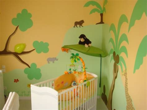 deco chambre bebe theme jungle decoration de chambre theme jungle