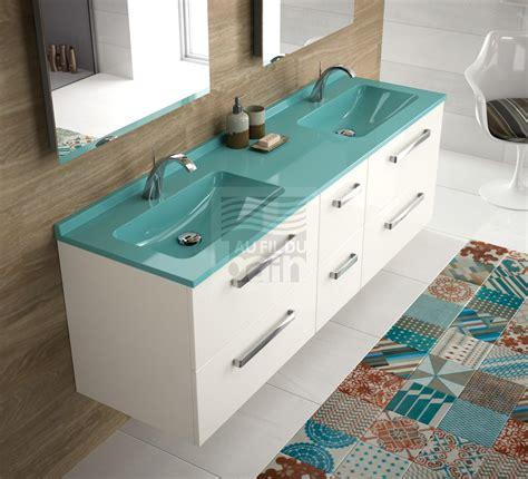 meubles de salle de bains suspendus vasque avec