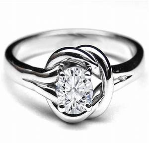 knot european engagement rings from mdc diamonds nyc With knot wedding ring