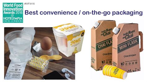 cuisine innovation ife food innovation awards best convenience on the go packaging