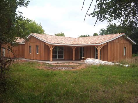 maison ossature bois gironde agrandissement sur 233 l 233 vation