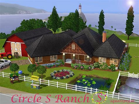 The game begins with a brief introduction to your character: Sims and Just Stuff: Circle S Ranch by squarepeg56