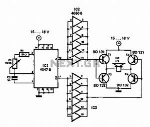 gt other circuits gt simple circuit diagram repellent l58900 With simple ic circuits