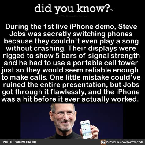 steve demo jobs iphone 1st during secretly
