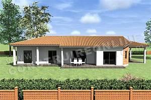 Plan Facade Maison : plan de maison moderne travis ~ Melissatoandfro.com Idées de Décoration