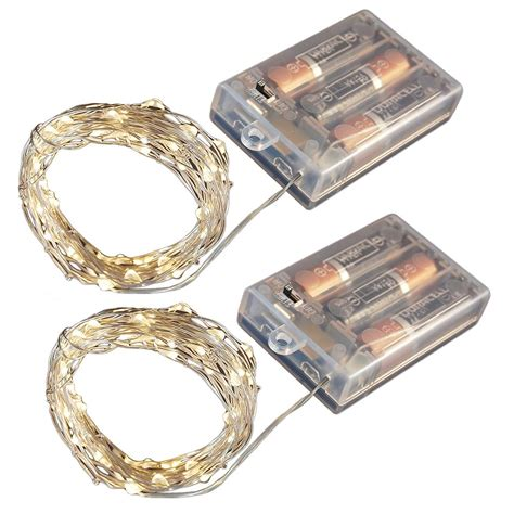 battery operated string lights home depot lumabase battery operated led waterproof mini string