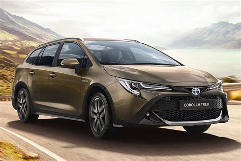 The base toyota corolla sedan has a starting msrp of $20,025, while the corolla hatchback has a base price of $20,665. UK prices revealed for new 2020 Toyota Corolla Trek | Auto ...