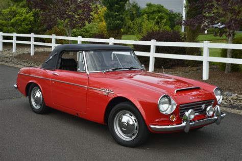 1967 Datsun Roadster For Sale by No Reserve 1967 5 Datsun 1600 Roadster For Sale On Bat