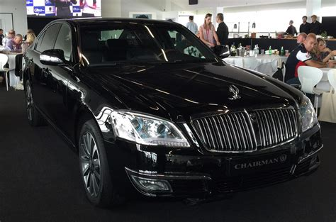 ssangyong chairman  luxury saloon   uk