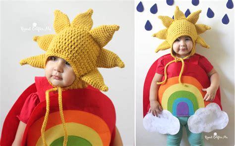 Crochet Sun Hat Pattern And Rainbow Costume
