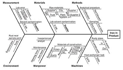 sme central fishbone diagram