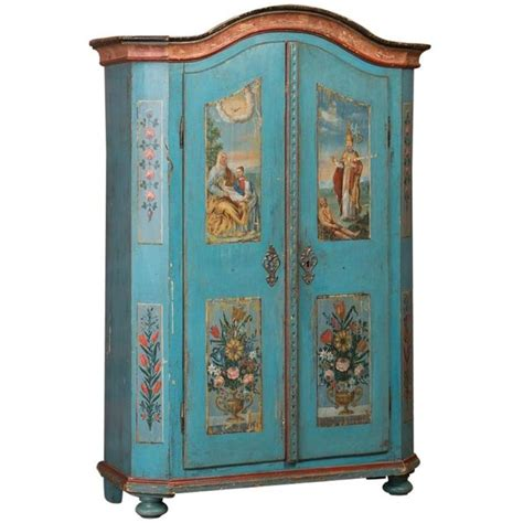 Painted Armoire For Sale Armoires Wardrobes Scandinavian Antiques Antique