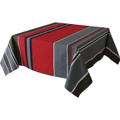 tissus pour nappes de table nappe titus tissu gris