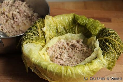 cuisine en cocotte recette chou farci la cuisine familiale un plat une