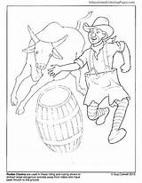 Rodeo Coloring Pages Clown Clowns Bull Riding Books Bucking Roping Team Posse Insane Printable Birthday Printables Colouringpages Getcolorings Drawing Animal sketch template