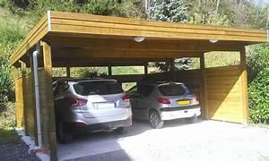Carport Avec Abri : carport 2 voitures charpente en kit d 39 abri de voiture of abri avec enchanteur carport 2 ~ Melissatoandfro.com Idées de Décoration