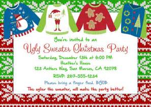 ugly sweater party invitations templates free all invitations ideas