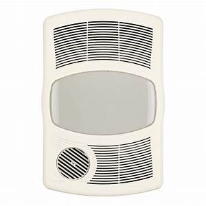 Broan 100 Cfm Exhaust Bathroom Fan With Heater  U0026 Reviews