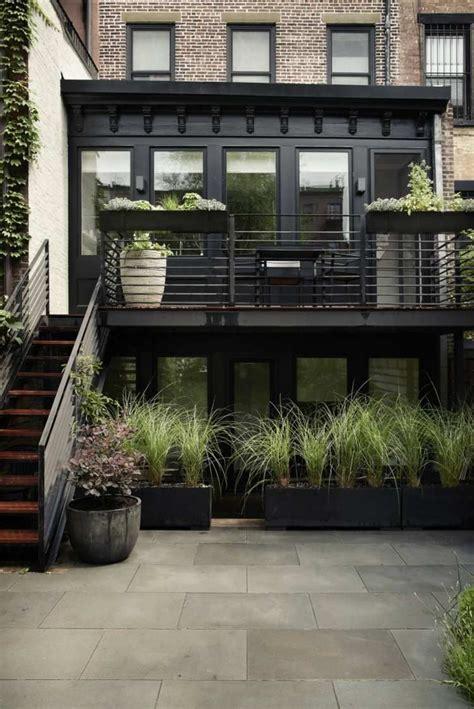 jardiniere cuisine aménagement jardin et terrasse en ville d une maison à