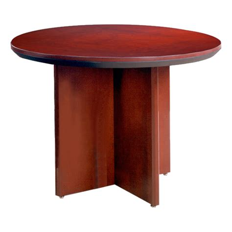 mayline group corsica conference table mayline group corsica series round conference table at