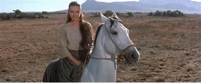 Audrey Horse Riding Hepburn Bareback Woman Unforgiven