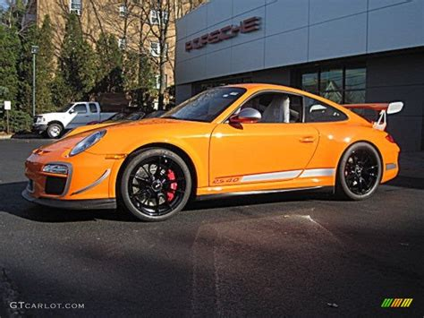porsche 911 orange custom orange 2011 porsche 911 gt3 rs 4 0 exterior photo