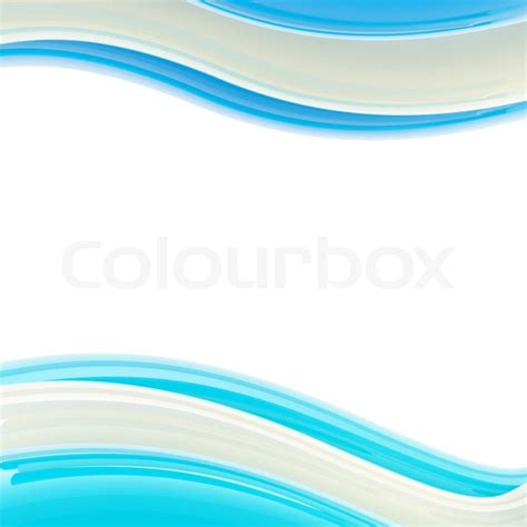 abstract blue wavy background ppt template wavy blue and white glossy bright design template