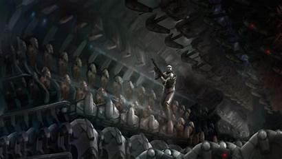 Clone Wars Star Wallpapers Trooper Commando Republic
