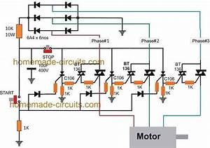 Solid State Contactor For Motor Pumps Using Triacs