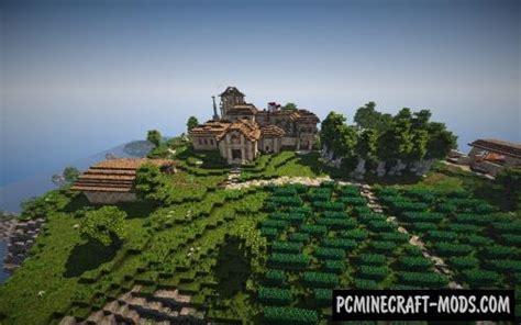 roman villa map  minecraft   pc java mods