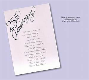 25th wedding anniversary invitation wording examples for 25 year wedding anniversary invitations