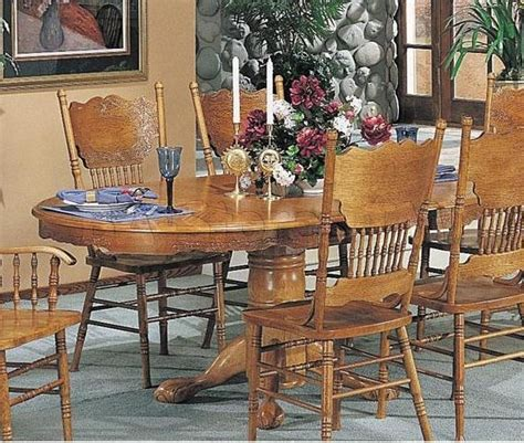 acme furniture nostalgia casual pedestal 20 best collection of pedestal dining tables and chairs