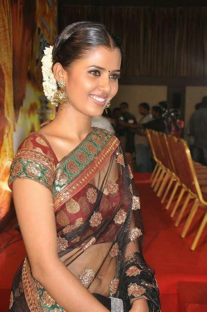 actress jennifer navel jennifer latest in transparent saree hot navel show photos