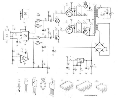Power Inverter Circuit Diagram